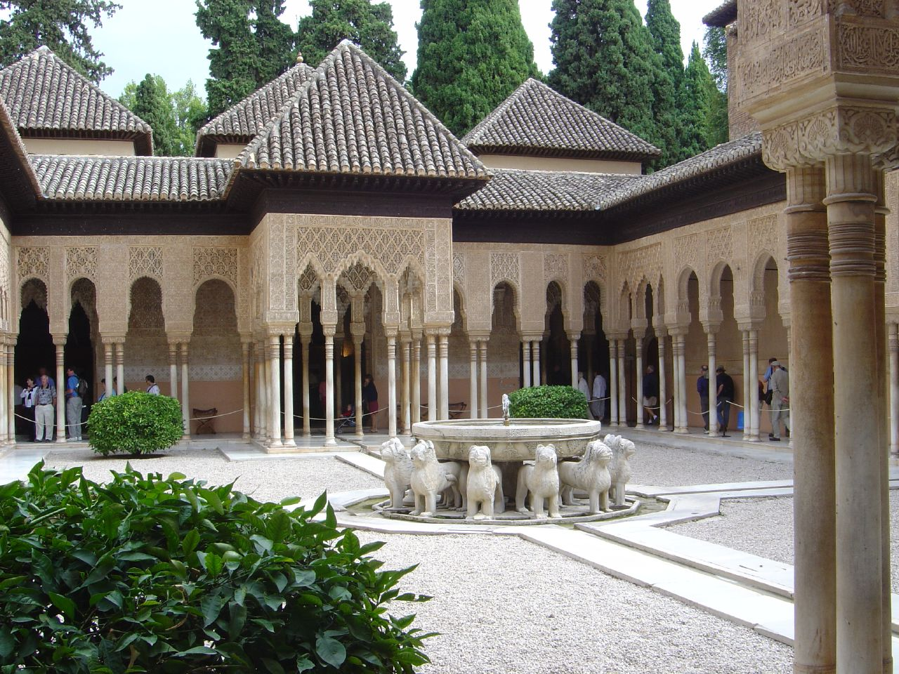 Courtyard of the Lions1362Granada, Spain