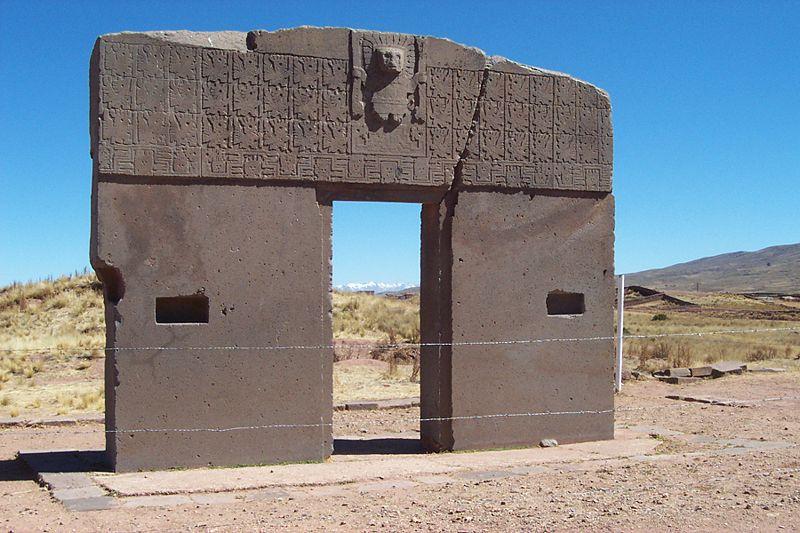 Gateway of the Sun375-700 ADTiwanaku, Bolivia
