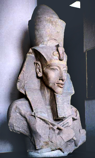 Statue of Pharoah Akhenaten