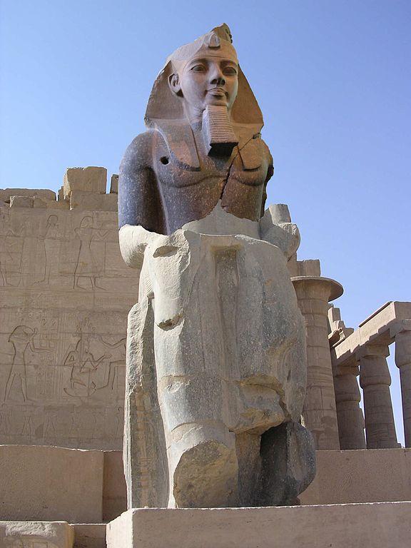 Statue of Pharaoh Ramses II