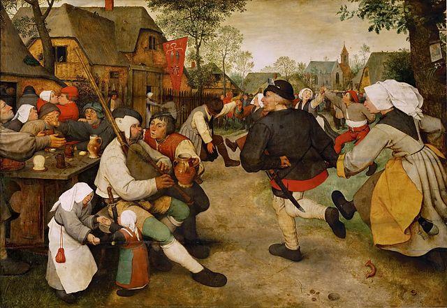 The Peasant Dance by Pieter Brueghel the Elder