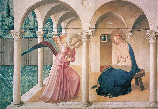 The Virgin of the Annunciation by Fra Angelico