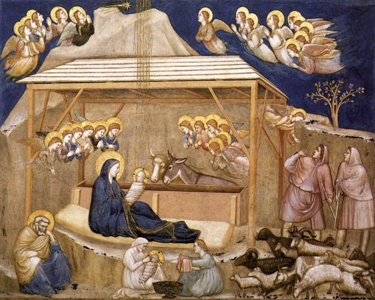 Nativity by Giotto