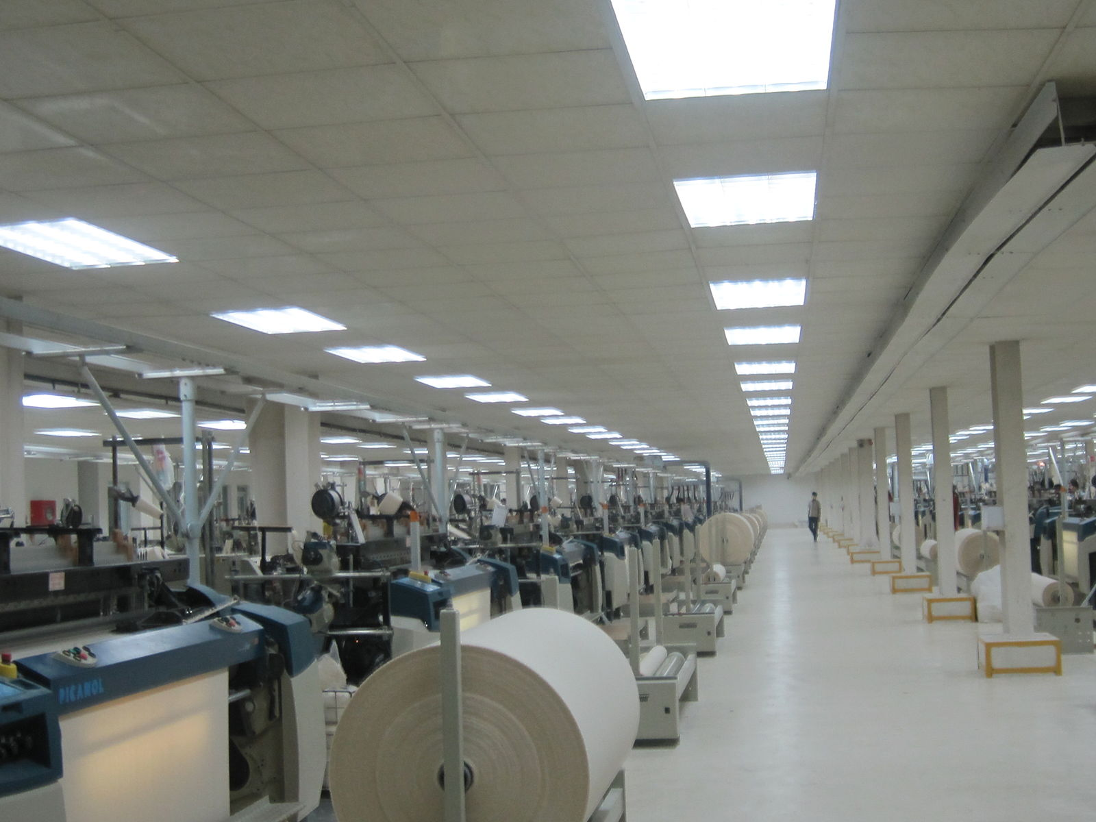 Fabric Production Floor