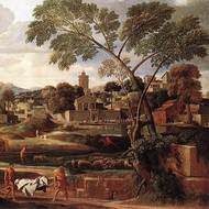 Baroque in France: landscape painting