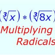 Lesson 5-3 Multiply Radical Expressions