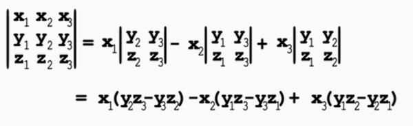 More Determinants: 3x3 Matrices