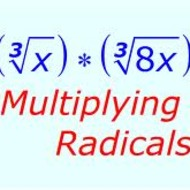 R-2 Multiplying Radicals (due TUES April 30)
