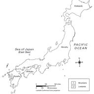 Japanese Population Density