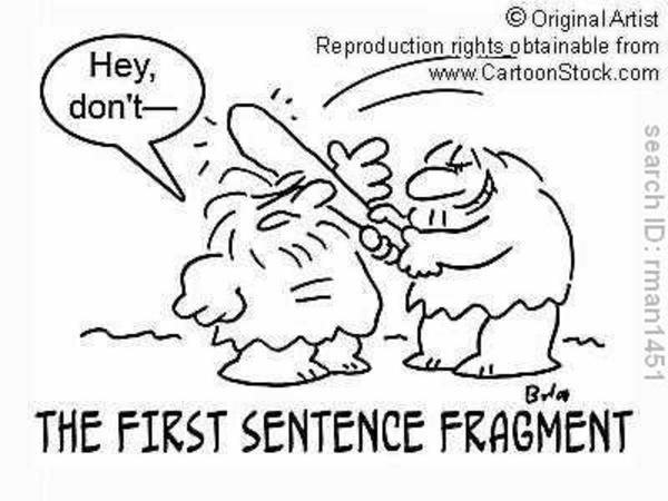 Using Sentence Fragments Wisely
