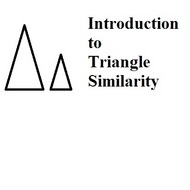 Introduction to Triangle Similarity