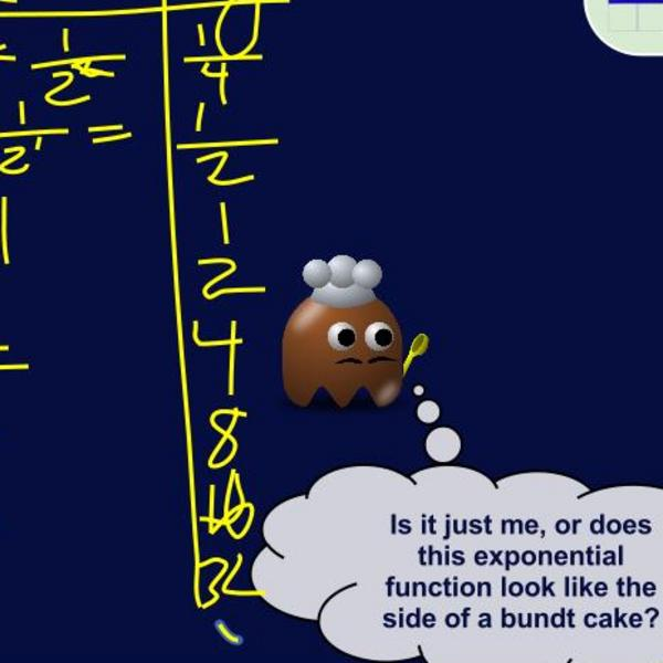 Making a Table From an Exponential Function