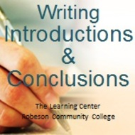 Writing Introductions and Conclusions for an Essay