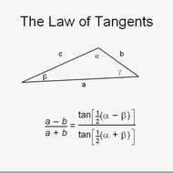 The Law of Tangents