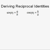 Trigonometric Reciprocal Relationships
