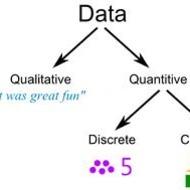 Qualitative versus Quantitative Data Tutorial | Sophia Learning