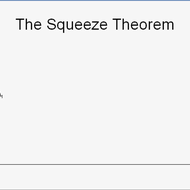 Squeeze Theorem