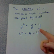 The Square of a Number