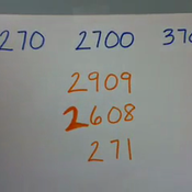 Ordering Three to Four Digit Numbers