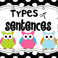 Four Kinds of Sentences (6th Grade)