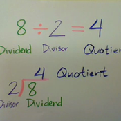 Division Terms