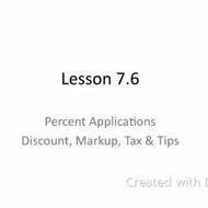 Lesson 7.6