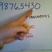 Thousandths
