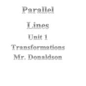 Parallel Lines Part 1
