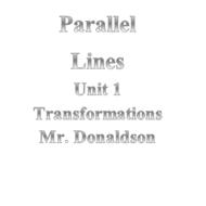 Parallel Lines Part 2