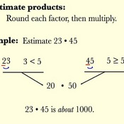 Estimations Of Products