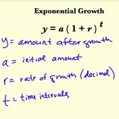 Exponential Growth in the Real World