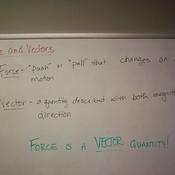 Force & Vectors