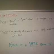 Force & Vectors