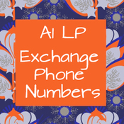 A1 LP - Exchange Phone Numbers