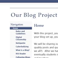 Our Blog Project