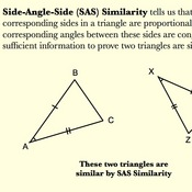 SAS Triangle Similarity