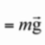 Gravitational Force & Newton's Second Law of Motion