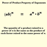 Power of a Product Property for Exponents