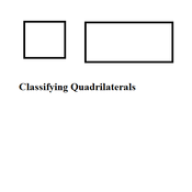 Classifying Quadrilaterals