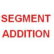Segment Addition Postulate and Segment Bisector