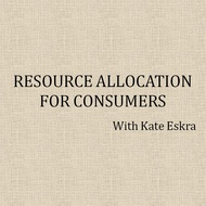 Resource Allocation for Consumers