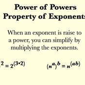 Power of a Power Property for Exponents