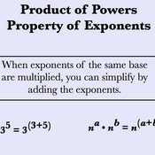 Product of a Power Property for Exponents