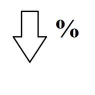 Decrease Percent of Change