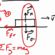 Kinetic Friction & Normal Forces