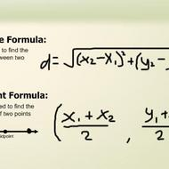 Distance and Midpoint Formulas