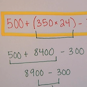 Order of Operations: Word Problem