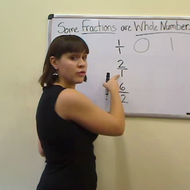 Converting Fractions to Whole Numbers