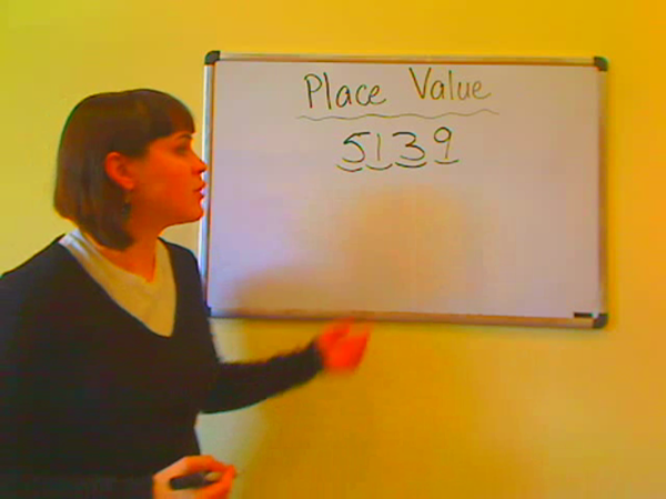 Place Value in Two to Four Digit Numbers