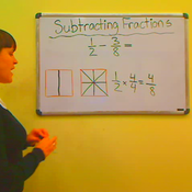 Subtracting Fractions with Unlike Denominators
